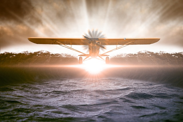 vuelo en avioneta