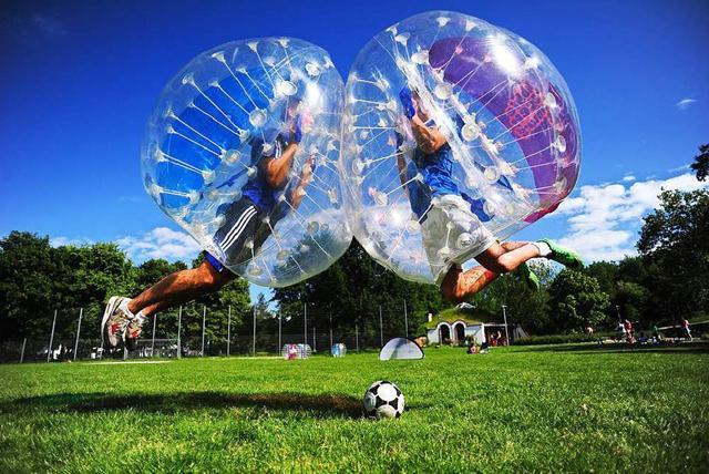 Bubble football despedidas de soltera soltero en valencia