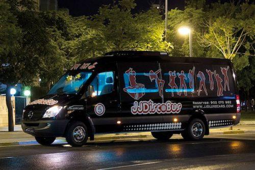 disco bus de 21 plazas