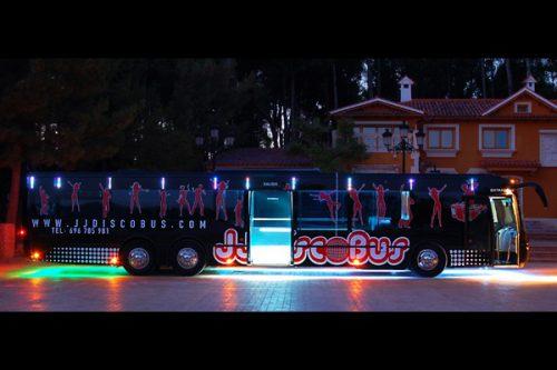 disco bus de 50 plazas